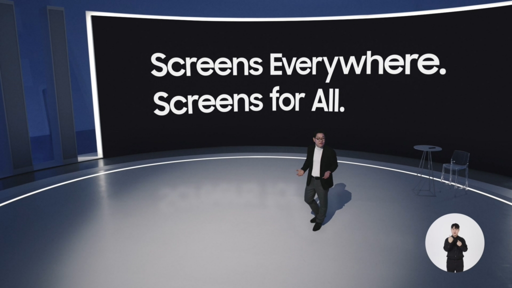 'Neo QLED'·'마이크로 LED' 전격 공개…'스크린 포 올' 비전 제시