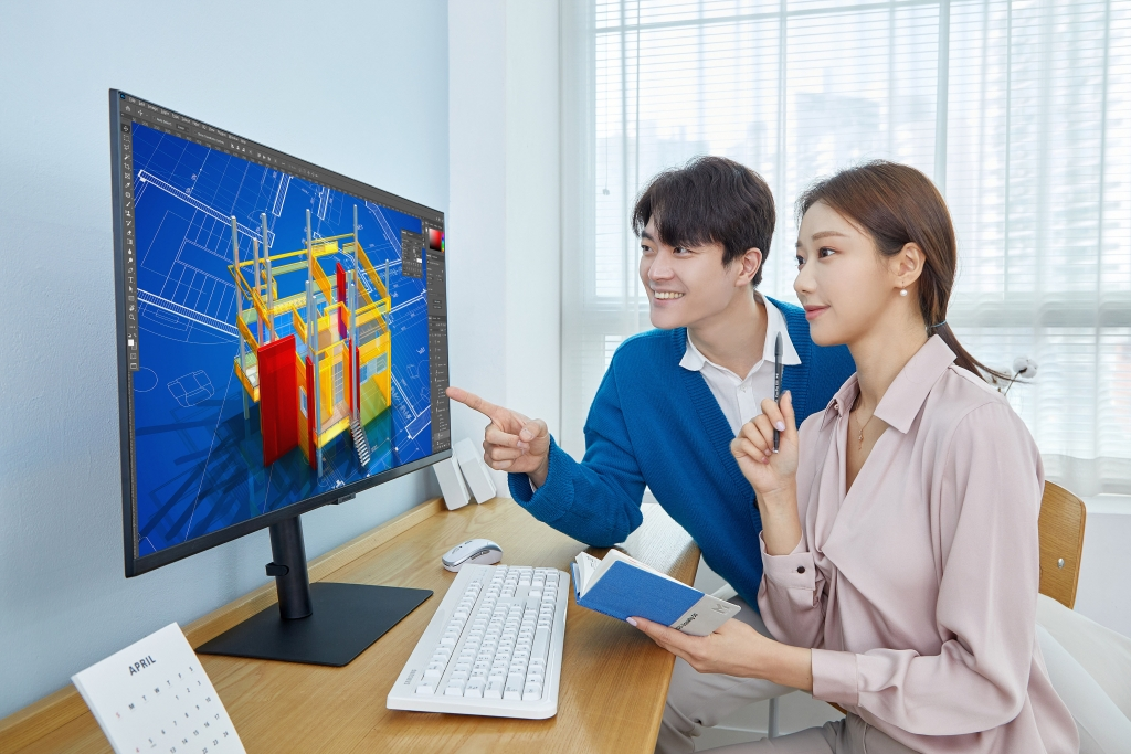 삼성전자, 사무 환경에 최적화된 2021년형 고해상도 모니터 풀라인업 출시