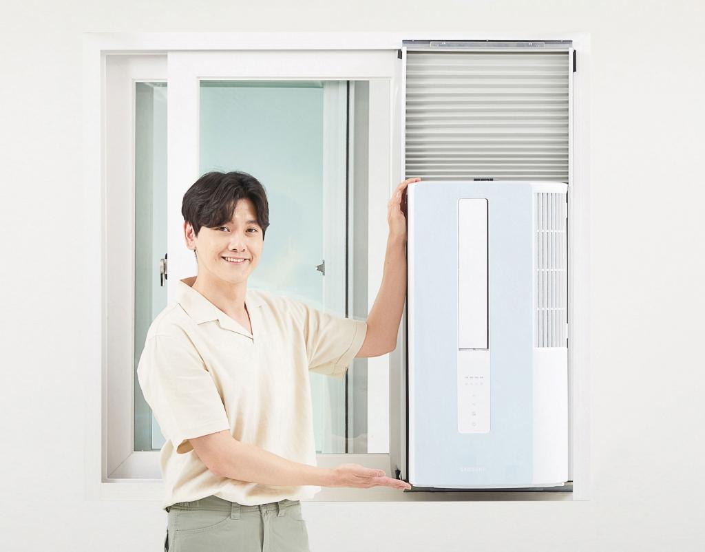 삼성전자, 창문형 에어컨 '윈도우 핏' 출시