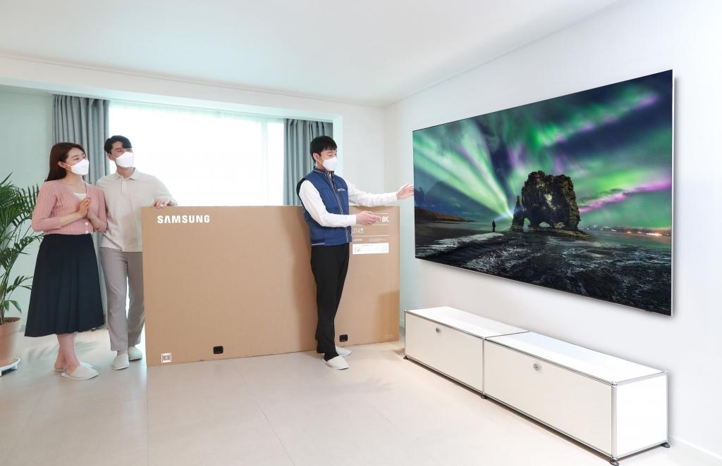 삼성 2021년형 QLED TV, 출시 두 달 만에 1만대 돌파