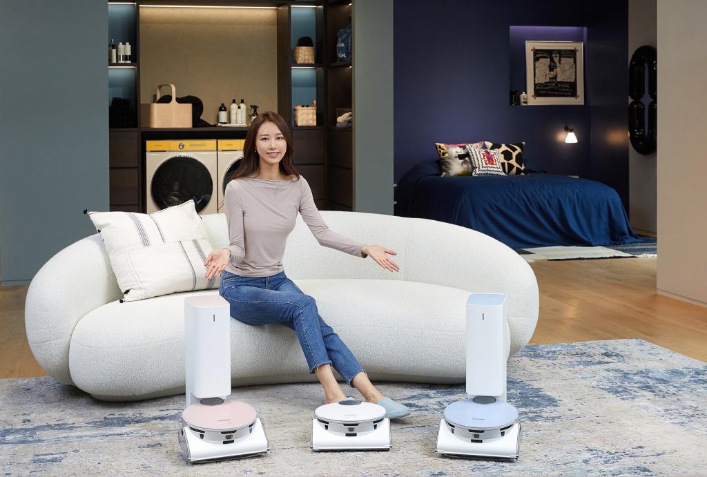 삼성전자, 인공지능 로봇청소기 '비스포크 제트 봇 AI' 출시