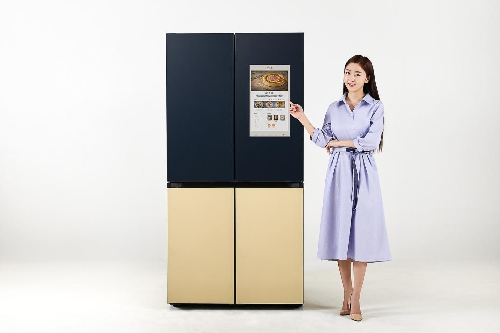 삼성전자, '비스포크 냉장고 패밀리허브' 신제품 출시