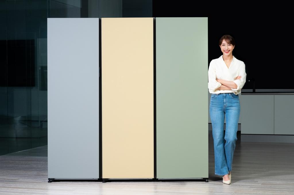 삼성전자, '비스포크 냉장고' 1도어 신제품 출시