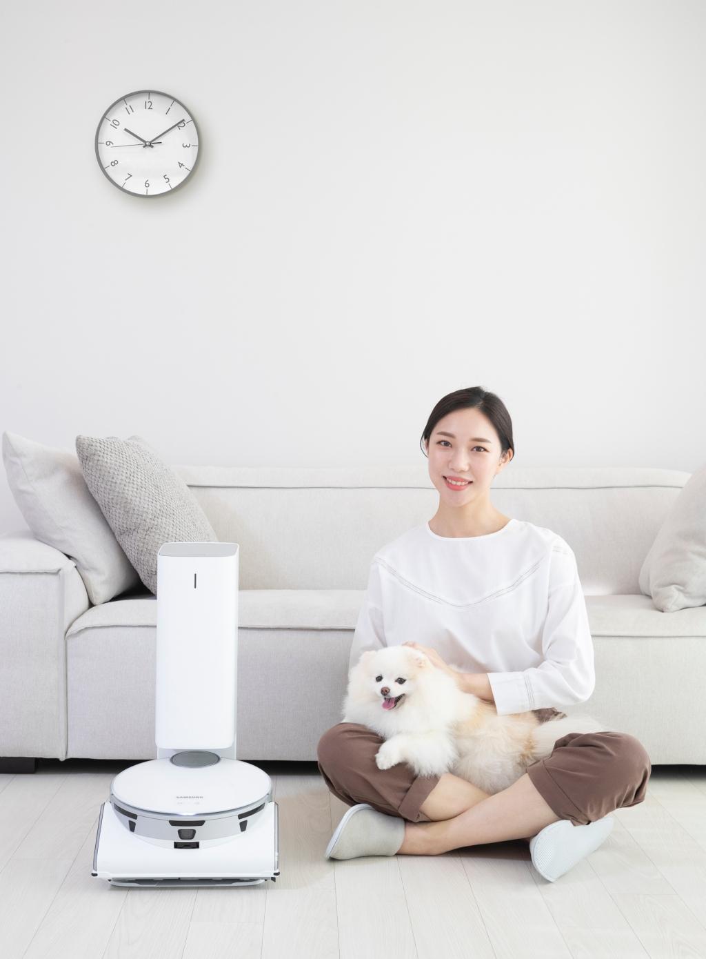 삼성전자, '비스포크 제트 봇 AI' 인기로 로봇청소기 매출 4배 증가